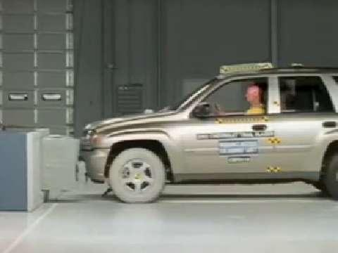 Buick Rainier crash test 2004