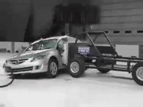 Mazda6 Crash Test 2009 2010