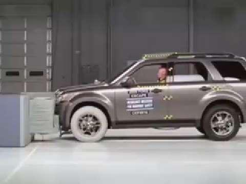 Mazda Tribute Hybrid crash test 2009-2010