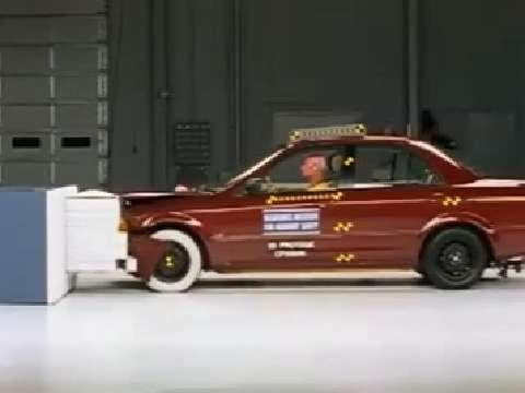 Mazda Protege crash test 1999-2003