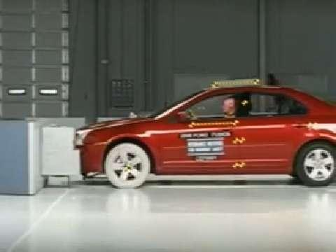 Lincoln Zephyr crash test 2006