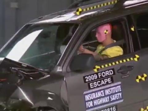 Ford Escape Hybrid crash test 2009-2010