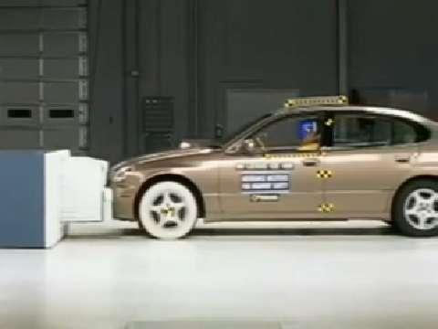 Lexus GS crash test 1999-2005