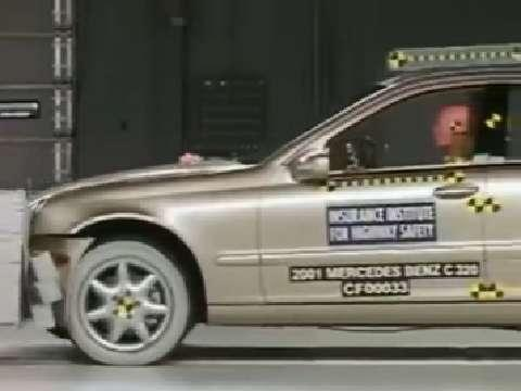 Mercedes-Benz C-Class crash test 2001-2007