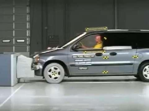 Mercury Monterey crash test 2004-2006