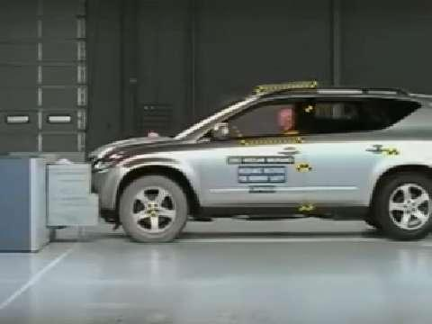 Nissan Murano crash test 2004-2007