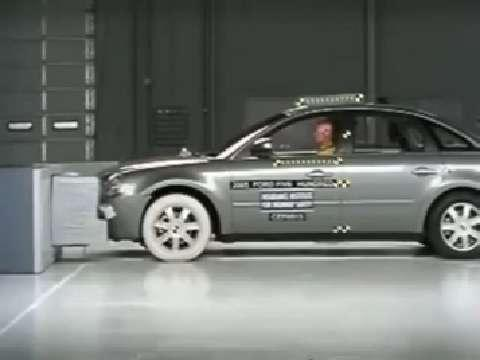 Mercury Montego crash test 2005-2007