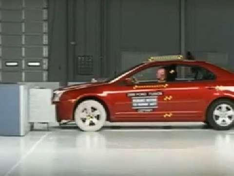 Mercury Milan crash test 2006-2007