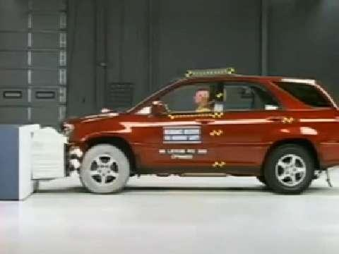 Lexus RX 300 crash test 1999-2003