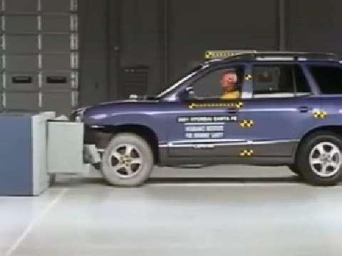 Hyundai Santa Fe crash test 2001-2006