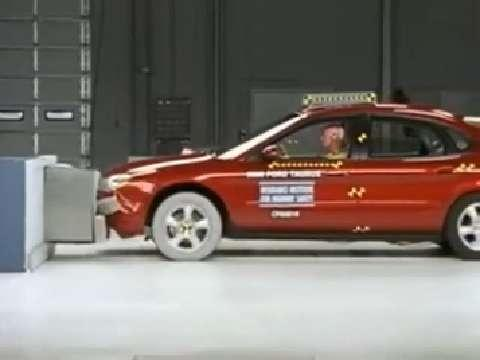 Mercury Sable crash test 2000-2005
