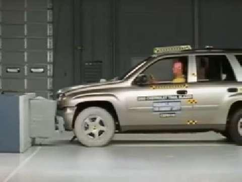 Isuzu Ascender crash test 2004