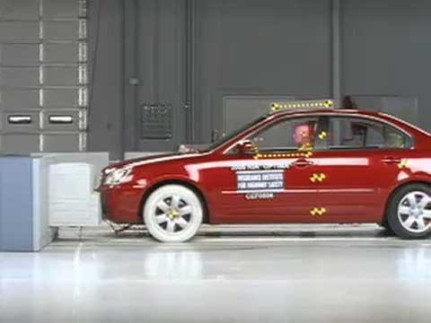 Kia Optima crash test 2006-2011