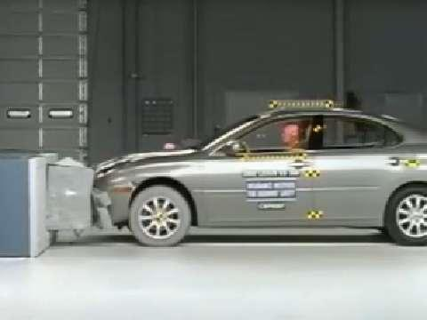 Lexus ES crash test 2002-2006