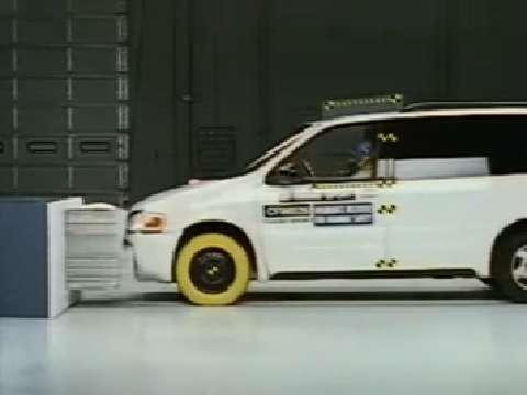 Chevrolet Venture crash test 1997-2005