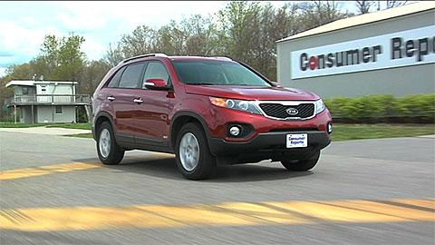 Kia Sorento 2011 2013 Road Test