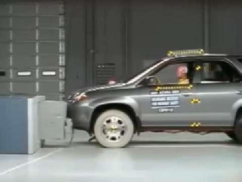 Acura MDX crash test 2001-2006