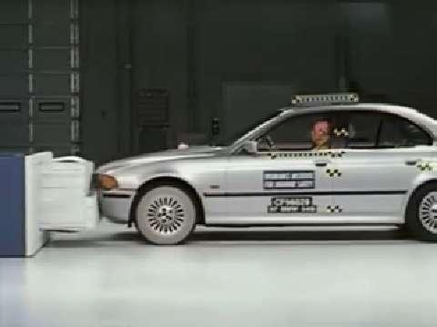 BMW 5 Series crash test 1997-2003