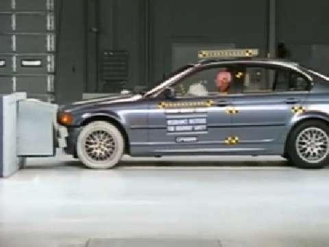 BMW 3 Series crash test 2000-2005