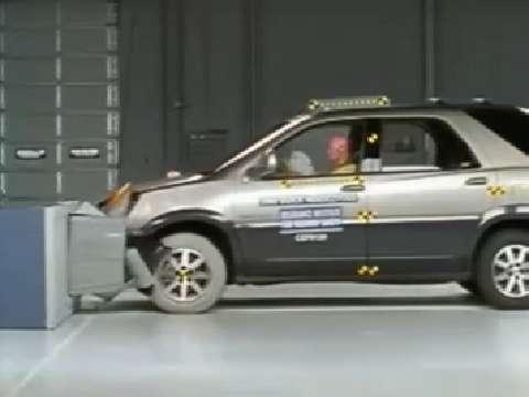 Buick Rendezvous crash test 2002-2007