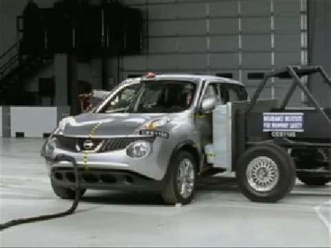 Nissan Juke crash test 2011