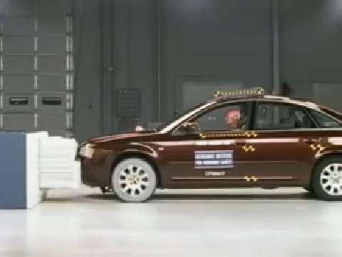 Audi A6 crash test 1998-2004