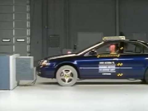 Acura TL crash test 1999-2003