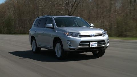 Toyota Highlander 2011-2013 Road Test