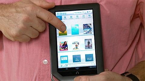 Nook Color e-book reader