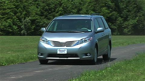 Toyota Sienna 2011-2014 Road Test