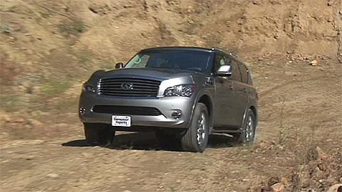 Infiniti QX80 2011-2015 Road Test