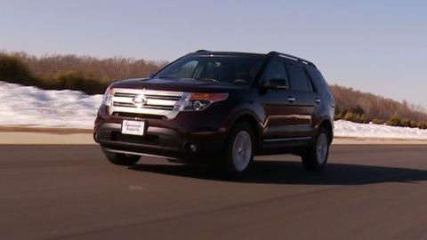 Ford Explorer   Road Test