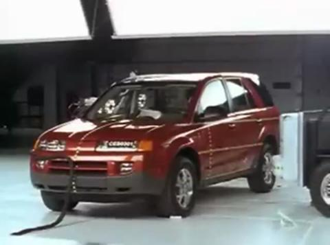 Saturn Vue crash test 2002-2007