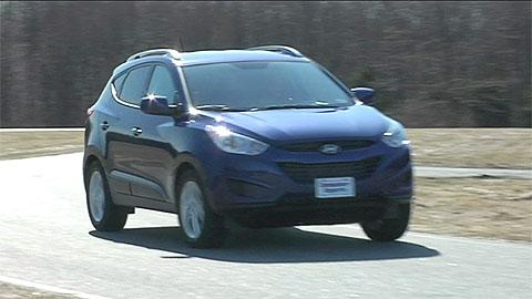 Hyundai Tucson 2010 2015 Road Test