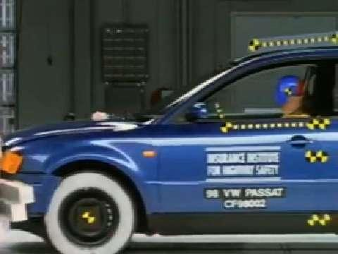 Volkswagen Passat crash test 1998-2005