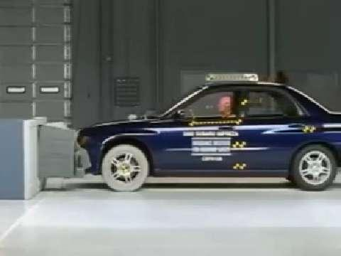 Subaru Impreza crash test 2002-2007