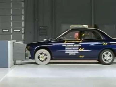 Saab 9-2X crash test 2005-2006