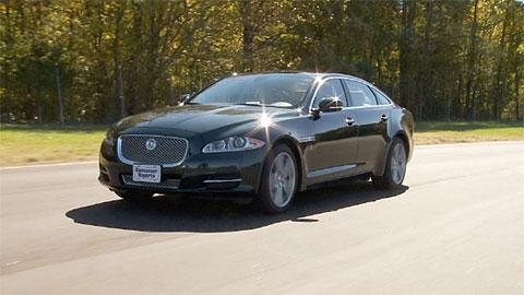 Jaguar XJ first look