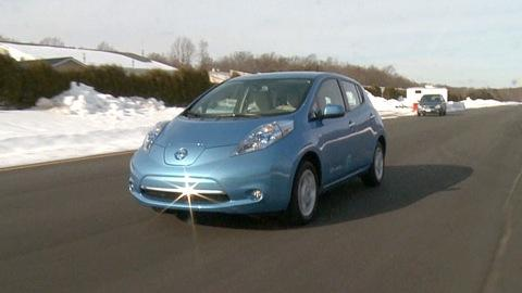 Nissan Leaf: Car of the future?