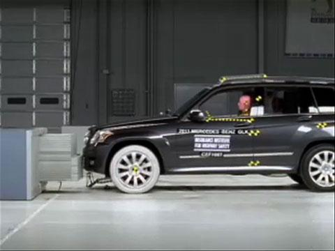 Mercedes-Benz GLK crash test 2011-2012