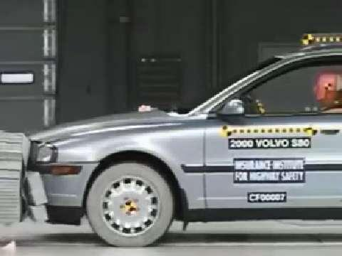 Volvo S80 crash test 2001-2006
