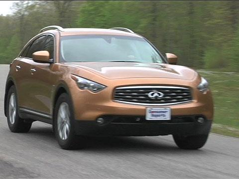 Infiniti FX QX70 2009-2014 Road Test