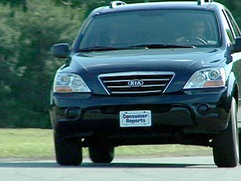 Kia Sorento 2007-2010 Road Test