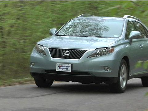 Lexus RX 2010-2012 Road Test