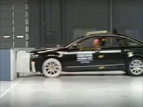 Audi A6 crash test 2005-2012