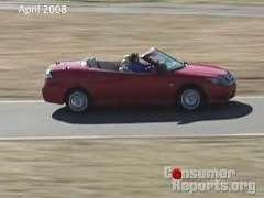 Saab 9-3 Convertible Review