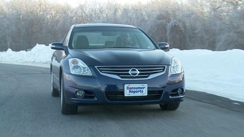 Nissan Altima 2007-2012 Road Test