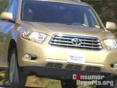 Toyota Highlander 2008-2010 Road Test