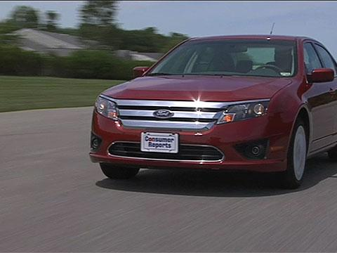Ford Fusion   Road Test