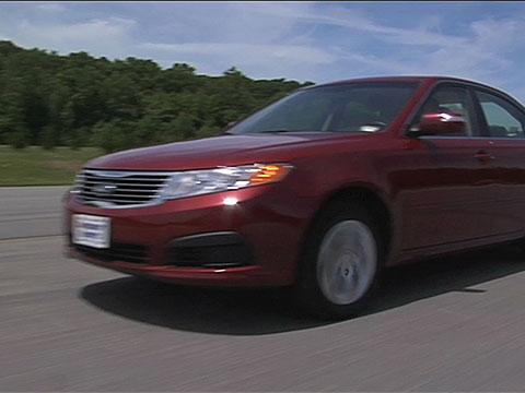 Kia Optima 2007-2010 Road Test